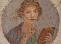 Egeli şair Sappho ve dünyası